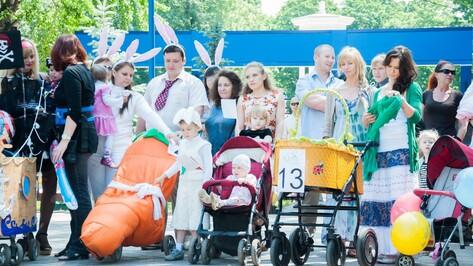 В Воронеже пройдет парад детских колясок