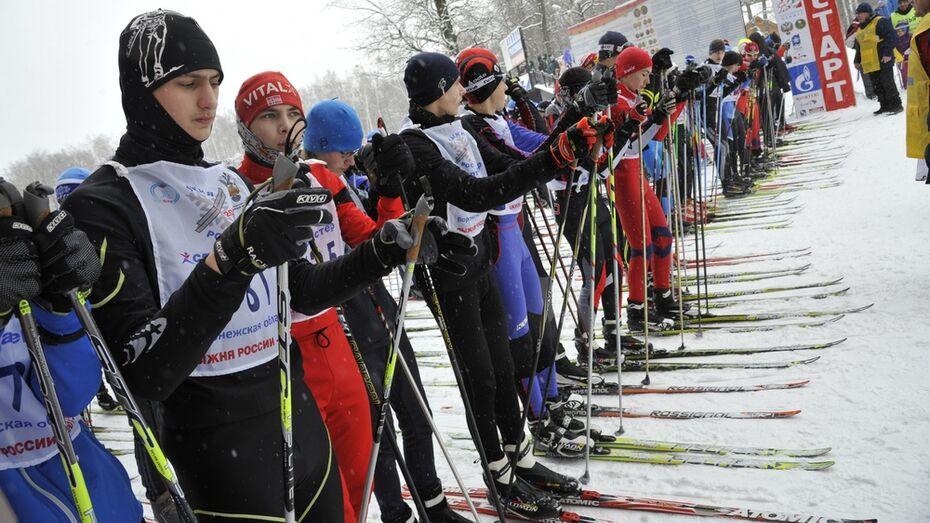 Поворинские полицейские стали вторыми в областной лыжной гонке