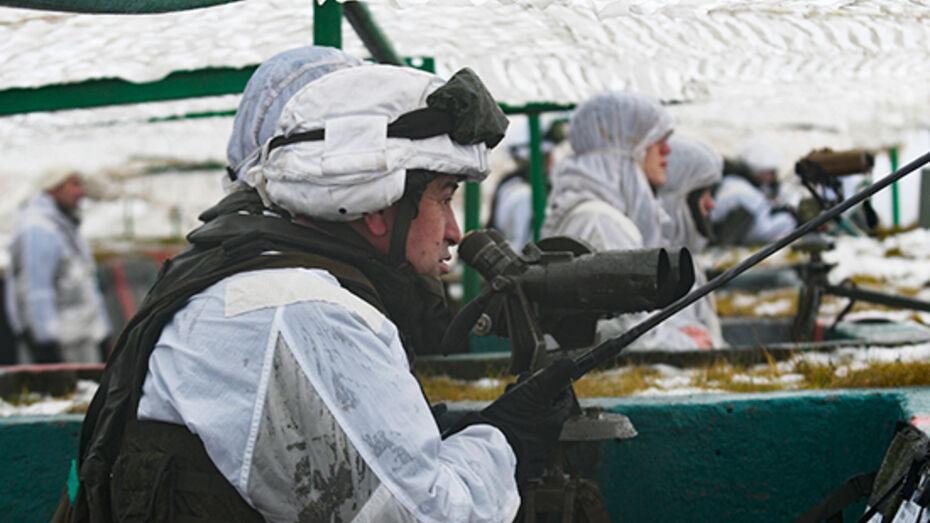 Пункты обогрева для военных развернули из-за аномального холода в Воронежской области