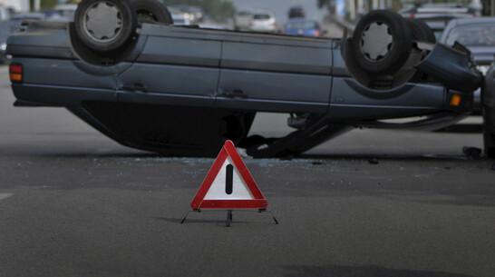 В Воронежской области перевернулась «Лада»: водитель погиб