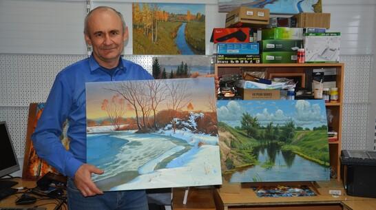 Выставка картин местного художника Игоря Гусынина откроется в Поворино