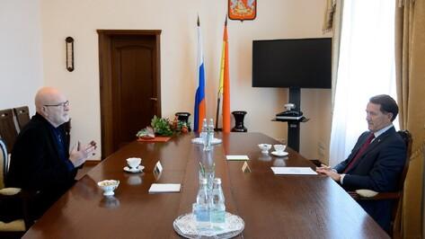 Худрук драмтеатра получил знак отличия «За заслуги перед Воронежской областью»