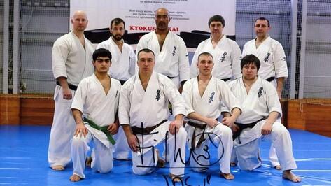Поворинец Юрий Ковальчук стал третьим в районе обладателем черного пояса