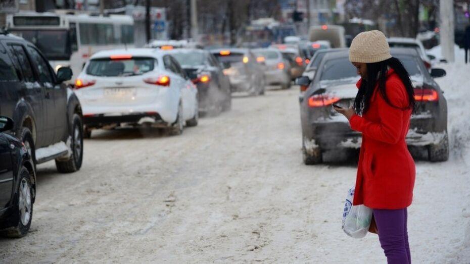 Воронежские коммунальщики предупредили о пробках у памятника Славы