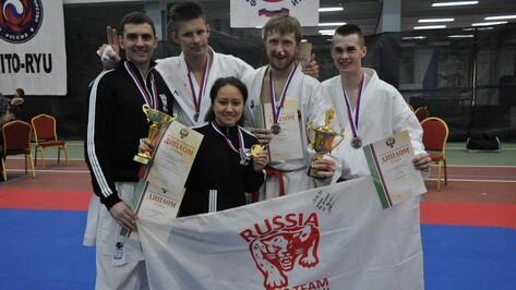 Воронежские каратисты выиграли 2 медали чемпионата России в стиле сито-рю