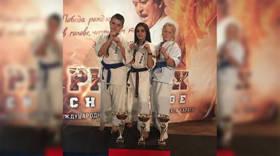 Каратисты из Кантемировского района завоевали 3 «золота» на международных соревнованиях