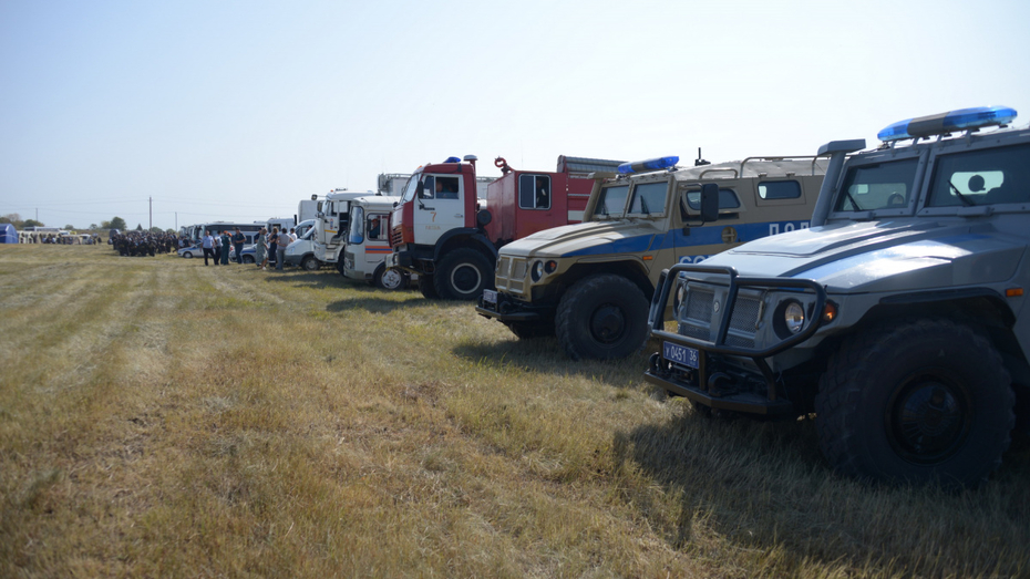 В тактико-специальных учениях УФСБ в Воронежской области приняли участие 1,7 тыс человек
