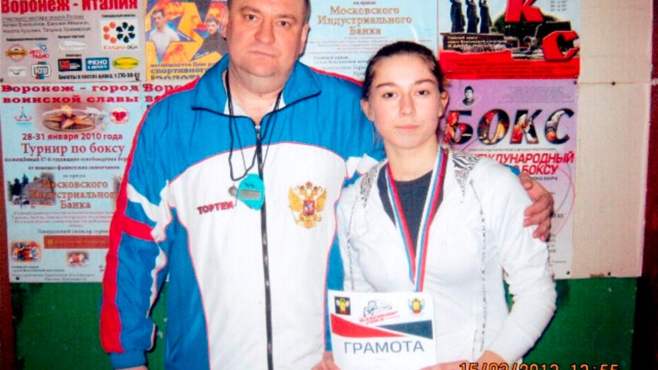 Жительница Семилук заняла третье место в чемпионате ЦФО по боксу среди женщин