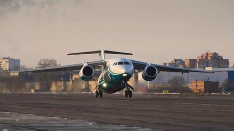 Воронежский авиазавод соберет для ВКС три самолета Ан-148 в 2017 году
