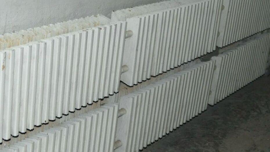 Коммунальщики подали тепло почти в половину соцобъектов Воронежа к обеду 6 октября