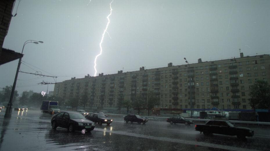 Первая весенняя гроза в Воронежской области станет штормовой