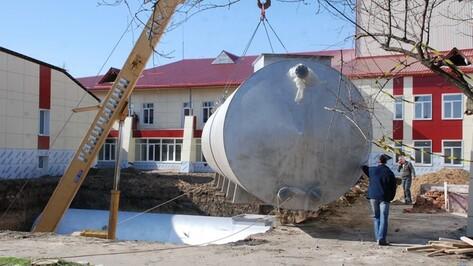 В центре Кантемировки установили противопожарные резервуары