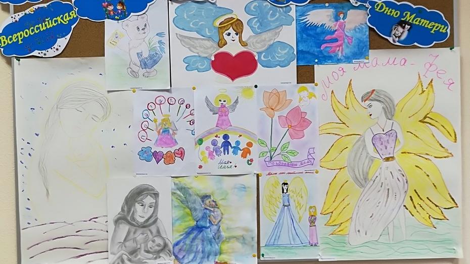 В Богучарском районе объявили конкурс рисунков для детей из многодетных семей