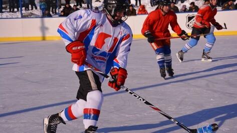 В Кантемировском районе стартовал сельский чемпионат по хоккею