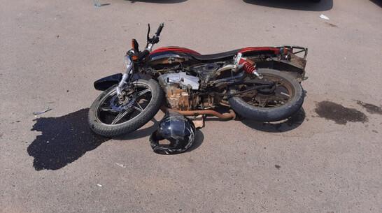 В Воронежской области «двенадцатая» сбила 17-летнего мотоциклиста