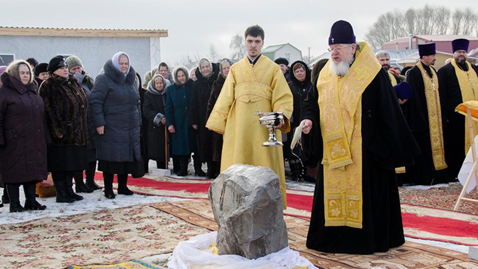 В Каширском районе возродится храм Архистратига Божия Михаила