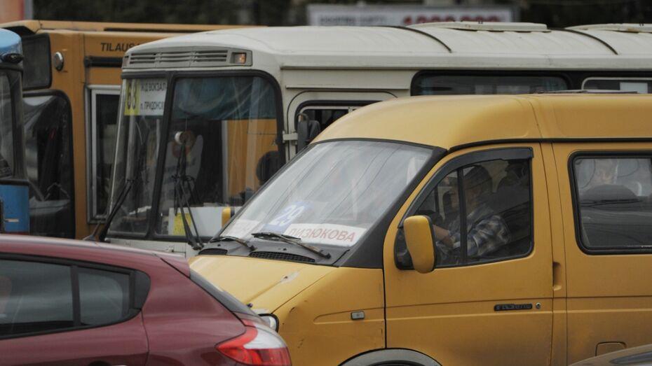 Пробки в Воронеже достигли 10 баллов