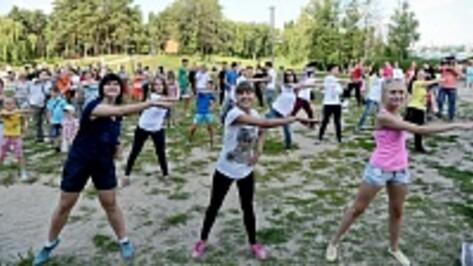 В воронежских парках появятся крытые площадки для массовых занятий зарядкой