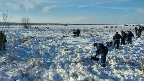 На месте крушения воронежского самолета Ан-148 нашли второй черный ящик