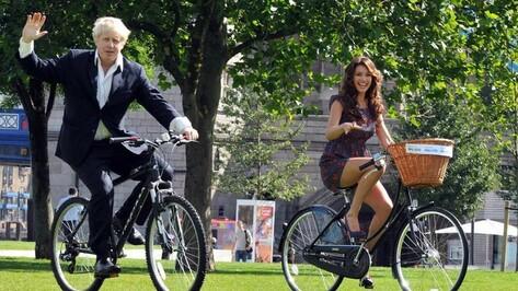 Мэр Лондона Борис Джонсон поприветствовал участников первого международного воронежского велофестиваля