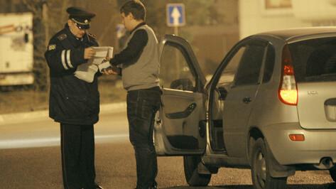 ГИБДД на длинных выходных устроит «охоту» на пьяных воронежских водителей