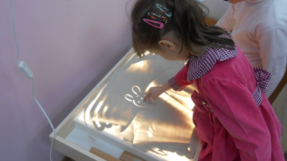 В Репьевском детском саду создали инновационную творческую мастерскую