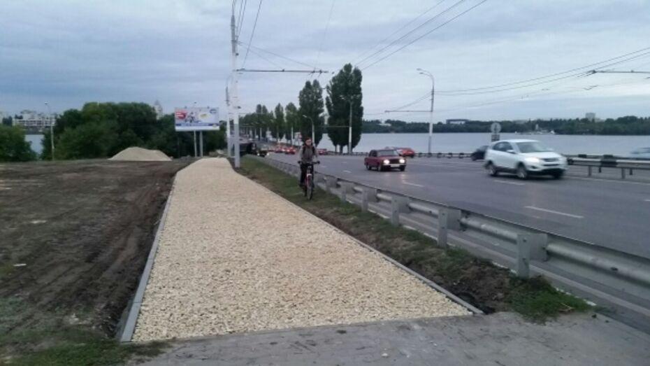 В Воронеже велодорожки от ВОГРЭСа до поворота на набережную проложат в 2016 году