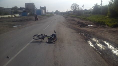 Под Воронежем автомобиль сбил 7-летнего велосипедиста