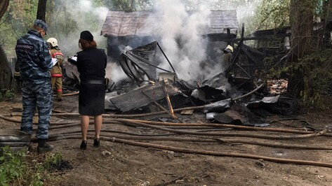 В Воронеже сгорел гараж участника акции протеста против «Платона»