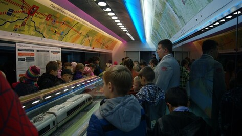 В Поворино впервые приехал передвижной выставочно-лекционный комплекс ОАО «РЖД»