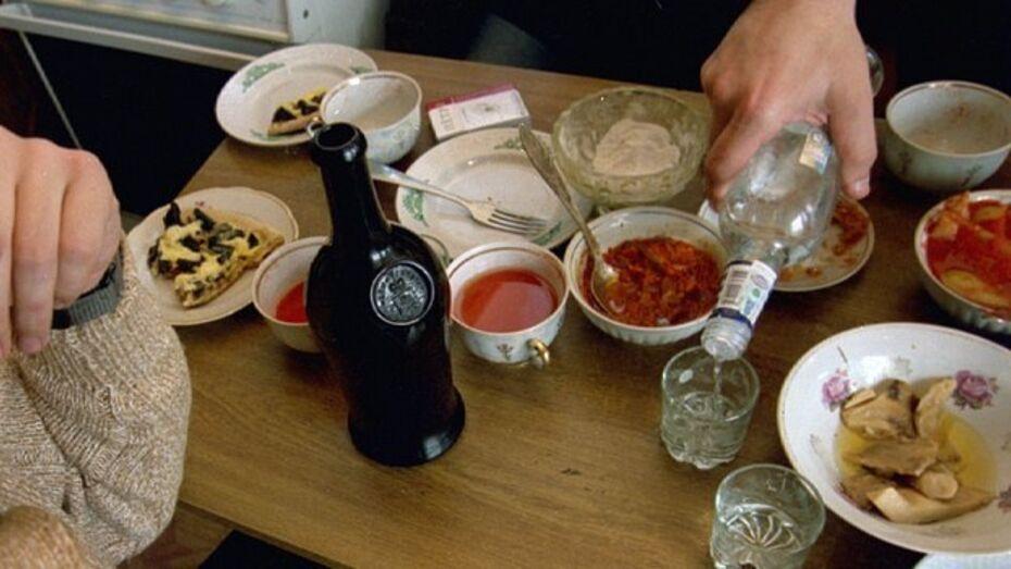 Воронежец украл спиртное для праздничного стола