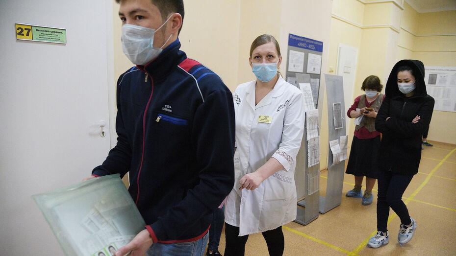 За первую неделю осени к врачам обратились 6,6 тыс воронежцев с ОРВИ