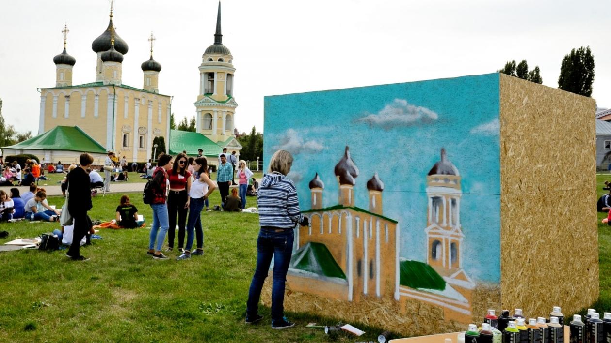 Пленэр для «Книги рекордов России» собрал более 5 тыс воронежцев