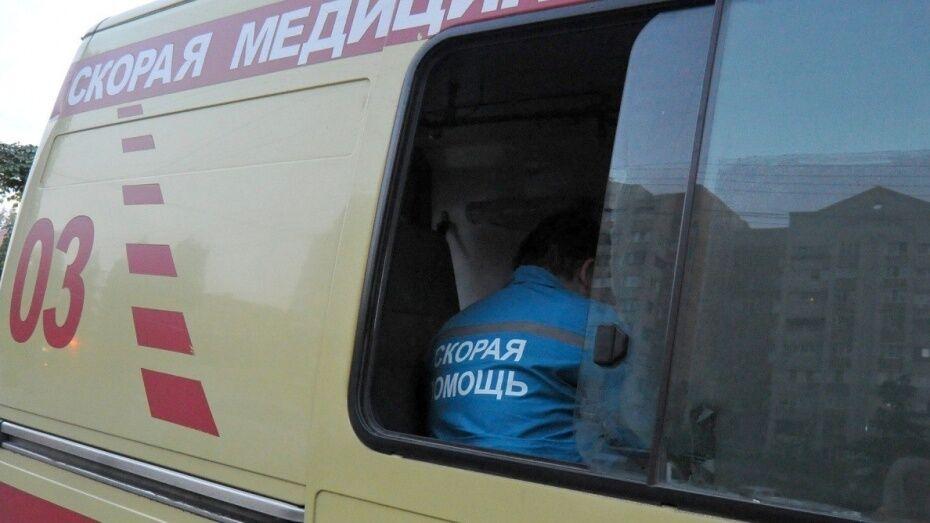 В Воронежской области перевернулся кроссовер: водитель погиб