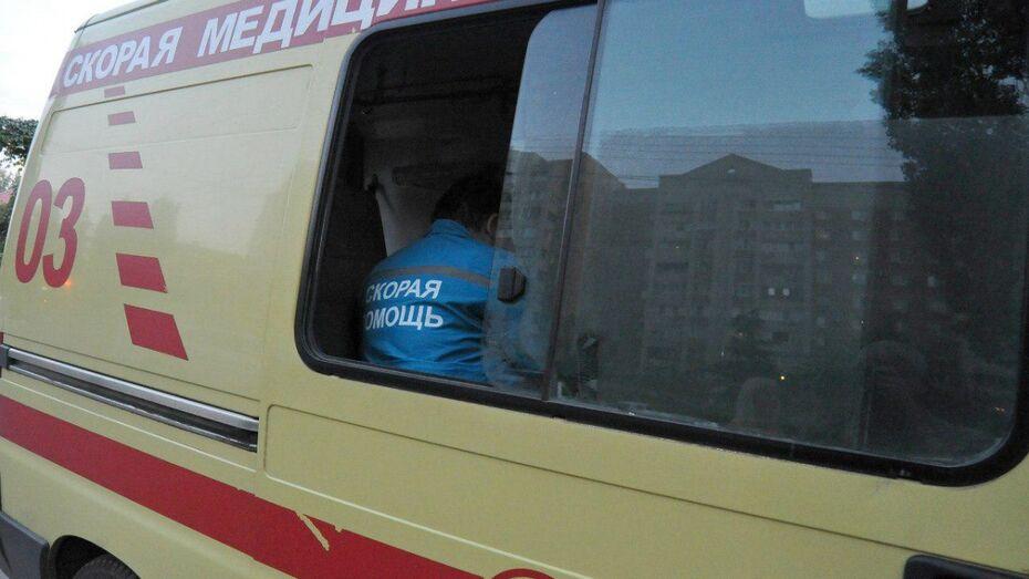 В Богучарском районе на трассе М4 «Дон» перевернулся автомобиль Kia