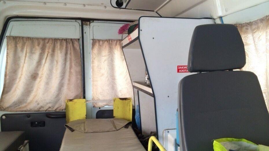 В Воронежской области пожилой пассажир «Газели» погиб в ДТП