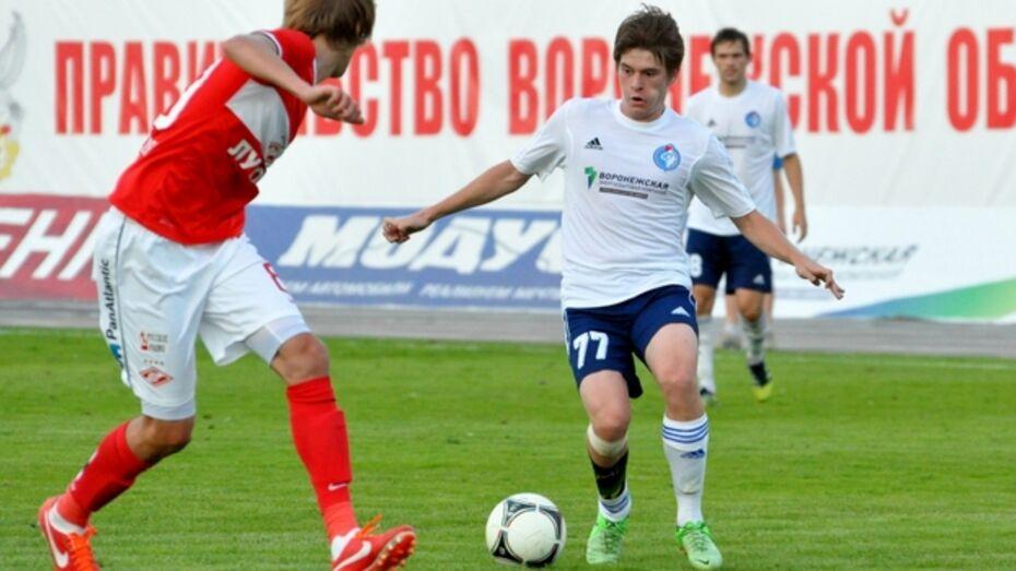 Игрок воронежского «Факела» вызван в молодежную сборную России