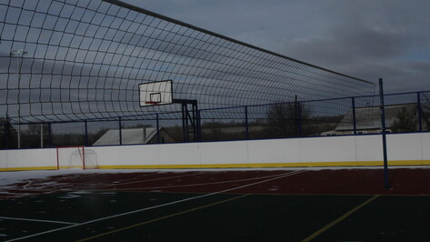 Многофункциональная спортивная площадка появилась в бобровском поселке Красный
