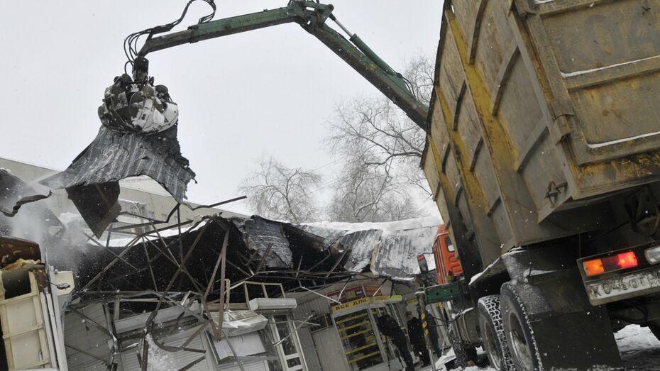 Воронежская облдума ужесточила ответственность за незаконную установку киосков и заправок