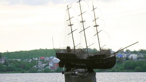 Мэрия Воронежа отложила демонтаж модели корабля «Меркурий»