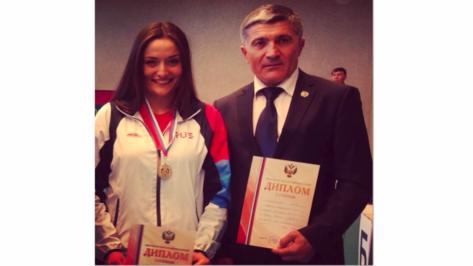 Воронежская спортсменка взяла Кубок России по борьбе на поясах