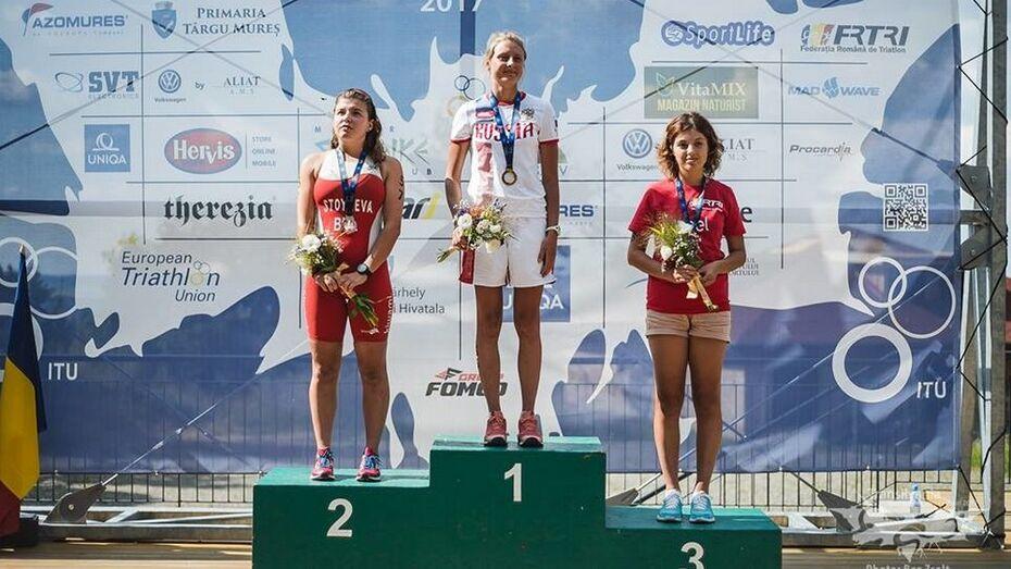 Спортсменка из Воронежской области выиграла чемпионат Европы по кросс-триатлону