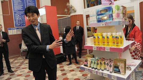 На воронежском главпочтамте открылась выставка японских товаров