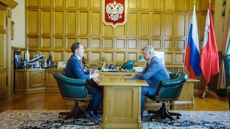 Губернатор поручил мэру организацию обсуждения проектов легкорельсового метро в Воронеже