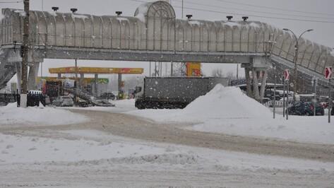 Снегопад привел к 18 ДТП на юге Воронежской области
