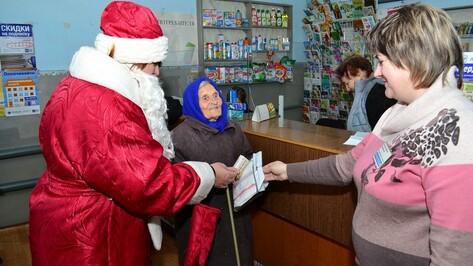 В Грибановском районе на День подписчика пришла 94-летняя учительница
