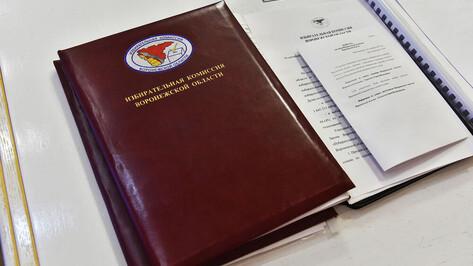 Формирование территориальных избиркомов завершилось в Воронежской области