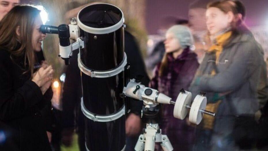Воронежцев позвали на бесплатные наблюдения Юпитера и его спутников