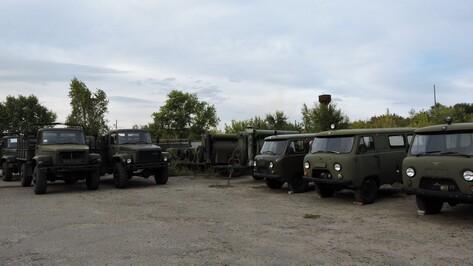 Кантемировский район получил от Минобороны полевые кухни и грузовики