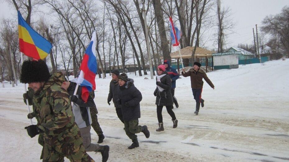 Семилукцы отметят 23 февраля трезвой пробежкой